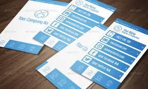 15 stylish social media business cards designs business card maker