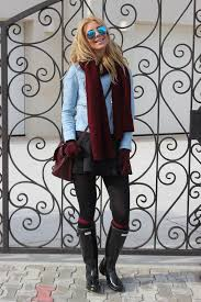 hunter rain boots black friday 18 stylish ways of how to wear rain boots in fall and winter be