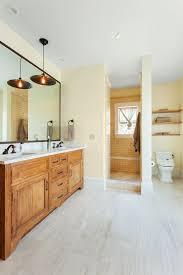 san francisco doorless shower design bathroom contemporary with