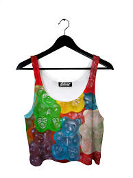 gummy clothes gummy bears crop top by beloved shirts