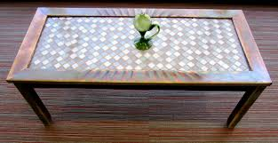 coffee table amazing tile coffee table designs astounding brown