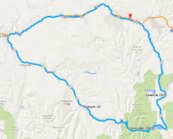 Glenwood Springs Colorado Map by Five Big Colorado Loops Contributing To The Problem