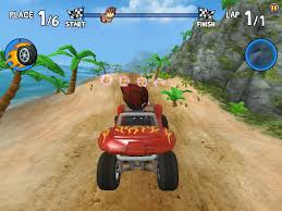 monster truck racing games beach buggy racing for android download