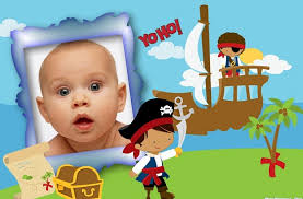 fotomontaje de calendario 2015 minions con foto hacer fotomontajes de niños piratas para hacer gratis fotomontajes