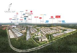 frontier industrial park premium u0026 modern development with semi