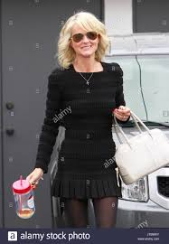 famous hairdressers in los angeles laeticia hallyday laeticia hallyday smiles as she leaves a hair
