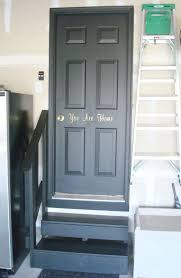 ordinary interior doors painted black black garage door home design