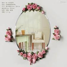 the european waterproof rose mirror retro fashion decorative wall see larger image