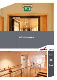 Home Lighting Design Pdf by Led Solutions Cooper Lighting And Safety Pdf Catalogue