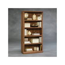 sauder 5 shelf bookcase sauder 5 shelf brown bookcase products