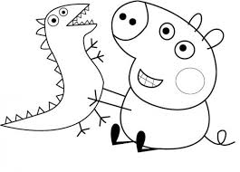 peppa pig 37 cartoons u2013 printable coloring pages
