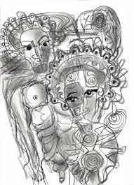 desenhos estranhos strange sketches multigraphias