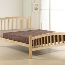 Beech Bed Frame Carla Bed Frame White Or Beech Murroe Beds