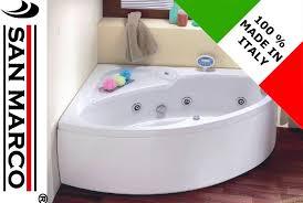 foto vasche da bagno vasca da bagno non idromassaggio ad angolo 150x100 cm asimmetrica