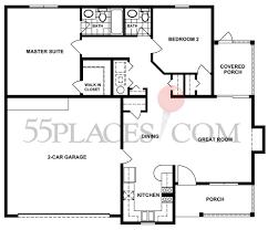 charleston floorplan 1108 sq ft hazelwood villas 55places com