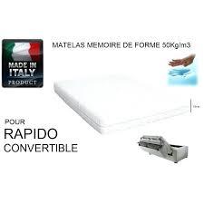 matelas de canap convertible canape convertible rapido couchage 160 canape lit rapido canape lit