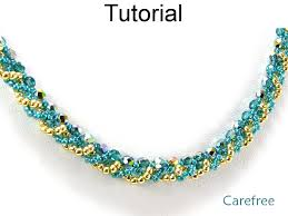 beading pattern necklace images Jewelry making tutorial pattern necklace simple bead patterns JPG