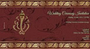 hindu wedding cards online wedding invitation card create online unique free wedding india
