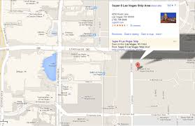 Map Of Las Vegas Strip Showing Hotels by They Don U0027t Call It Super 8 For Nothing Stars And Tiger Stripes