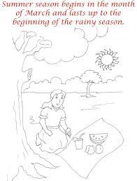 summer season coloring printable page4 for kids