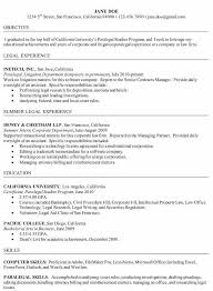 Proficient Computer Skills Resume Sample by Doc 564800 Entry Level Paralegal Resume Resume Examples Entry