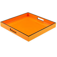 Coffee Table Trays by Orange Tray Orange Trays Orange Wood Tray Orange Wood Trays