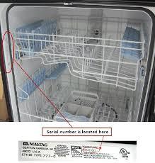Buy Maytag Dishwasher Maytag Recalls Dishwashers Due To Fire Hazard Cpsc Gov