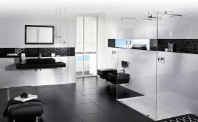 black and white bathroom design ideas black and white modern bathrooms caruba info