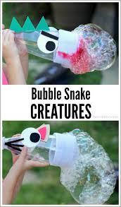 outdoor activities for kids bubble snake creatures twodaloo