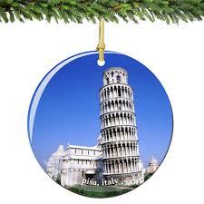 eiffel tower christmas ornament river seine
