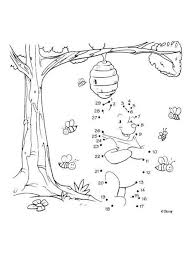 honey coloring pages reading u0026 learning drawing kids kids