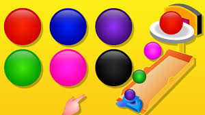 colors for children to lean with color balls learning colours