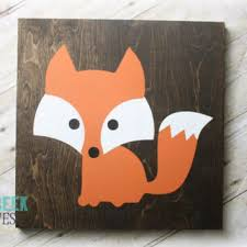 best fox nursery decor products on wanelo