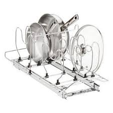 lynk chrome pull out cabinet drawers lynk chrome pull out cabinet drawers cookware chrome and