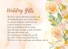 wish cards for wedding gold floral gift wish card from 0 40 each