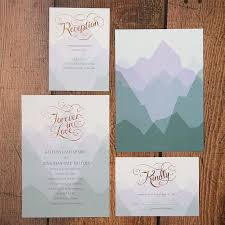 mountain wedding invitations mountain wedding invitations marialonghi
