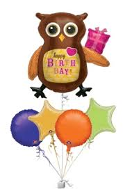 balloons to be delivered birthday owl balloons birthday balloon delivery balloons delivered