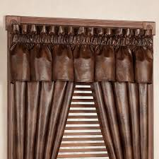 Solid Color Valances For Windows Mesmerizing Chocolate Brown Valances For Window 130 Chocolate