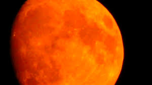 Wild Fires Near Merritt by B C Forest Fire Smoke Makes The Calgary Moon Looks Orange Youtube