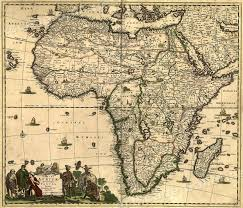 Usps First Class Shipping Time Map 1688 Africa And The Mediteranean Vintage Style Wall Map 20x24 Ebay