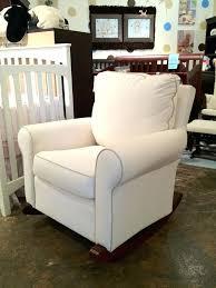 reclining rocking chair nursery awesome nursery rocker recliner