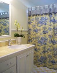 blue and yellow bathroom ideas spectacular custom shower curtains decorating ideas for bathroom