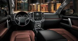 Toyota Land Cruiser Interior 2016 Toyota Land Cruiser First Drive Automiddleeast Com