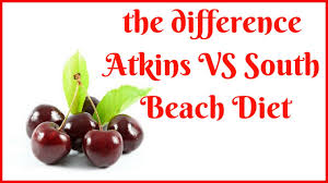 what is the difference between atkins and south beach diet youtube