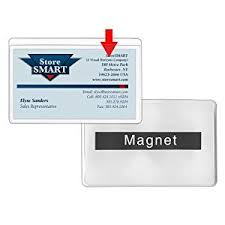 Business Card Holder Amazon Amazon Com Storesmart Magnetic Business Card Holder 2 1 16