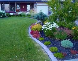 Rock Borders For Gardens Prissy Design Brick Landscape Border 37 Creative Lawn And Garden