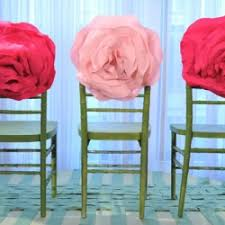 Diy Chair Sashes Organza Sashes Weddingbee