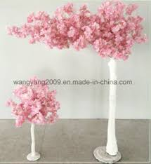 china small pink blossom tree centerpiece for table decoration