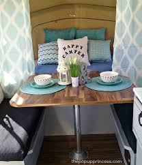 Table Up Best 25 Camper Table Ideas On Pinterest