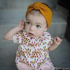 newborn headbands baby girl knit crochet turban headband warm headbands hair